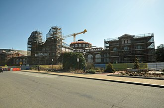 Arts and Industries Building - Renovation of the Arts and Industries Building in 2012