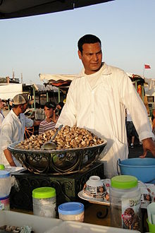 Moroccan snails