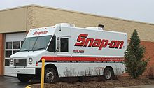 Snap-on dealer van Westland Michigan.JPG