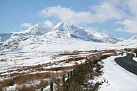 Snowdon in the snow clear sight.jpg