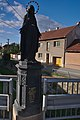 Socha na mostě, Drnovice, okres Blansko (02).jpg
