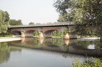 Oglio - The river between Soncino and Orzinuovi