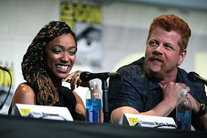 Sasha Williams (The Walking Dead) - Sasha enters into a relationship with Abraham (Cudlitz, right) in the sixth season.