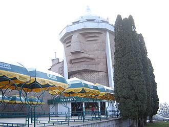 Nalchik - Sosruko tower in Nalchik.