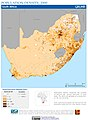 South Africa Population Density, 2000 (6171923367).jpg