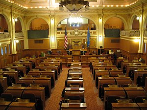South Dakota House of Representatives - Image: South Dakota House of Representatives Chamber