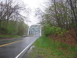 Brookfield, Connecticut - The Southville Bridge, part of Connecticut Route 133