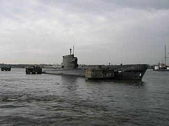 Zulu-class submarine - Image: Soviet submarine Amsterdam