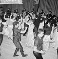 Sowjet Russisch Staatsensemble repetitie van de Georgier dansgroep in Apollohal. 30 oktober 1962-3.jpg