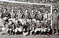 Spanish national football team before the match against Portugal in Lisbon, 20.03.1949.jpg