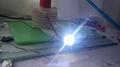 Spark gap in a tesla coil.png