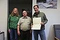 Special Award from Dan Ashe for Les Miller (6978342042).jpg