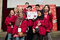Special Olympics World Winter Games 2017 reception Vienna - Malaysia 02.jpg