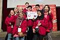 Special Olympics World Winter Games 2017 reception Vienna - Malaysia 02.jpg