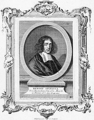 Pierre-Edmé Babel - Benedictus de Spinoza (1632-1677). Engraving. Rijksmuseum Amsterdam, by Babel