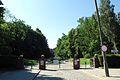 Srebrzysko cemetery in Gdansk main entrance.jpg