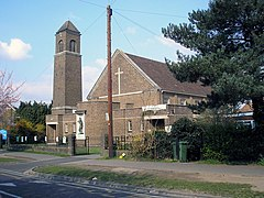St. Christopher's Church, Hinchley Wood - geograph.org.uk - 877530.jpg