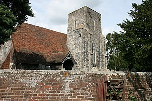 Tonge, Kent - The Church of St Giles
