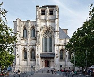 St. Peter's Church, Leuven - West façade