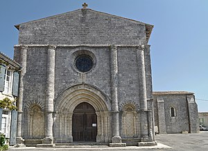 Oléron - Saint George's church, Oléron