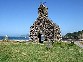Brynach - The Church of St Brynach's ruins, Cwm-yr-Eglwys