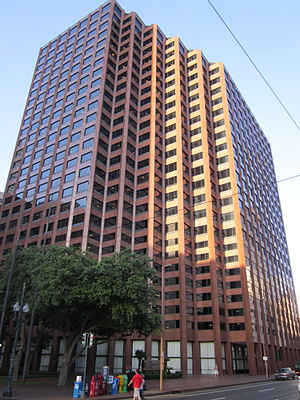 Pan American Life Center - Image: St Charles Ave CBD Poydras