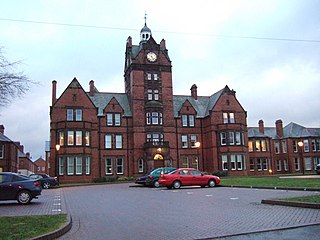 St Edwards Hospital Hospital in Cheddleton, England