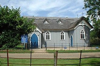 "Babingley - 1880 ""tin tabernacle"" mission church"