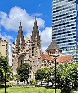 St Johns Cathedral (Brisbane) Church in Queensland, Australia