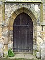 St John's Church, Allerston - Door - geograph.org.uk - 495785.jpg