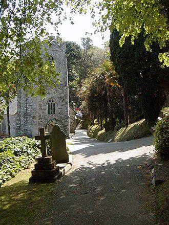 Roseland Peninsula - Churchyard of St Just