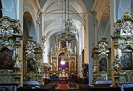 St Mark the Evangelist Church (interior), 10 sw. Marka street, Old Town, Krakow,Poland.jpg