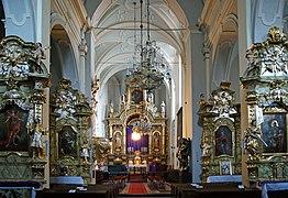 St Mark the Evangelist Church (interior), 10 sw. Marka street, Old Town, Krakow,Poland.jpg