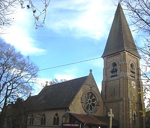 St John the Baptist's Church, Crawley - The former church of St Michael and All Angels, still within the parish boundaries but no longer used by Anglicans