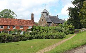 Hambledon, Surrey - Image: St Peter's church, Hambledon, Surrey