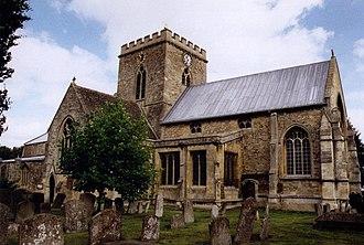 Wantage - Saints Peter and Paul parish church