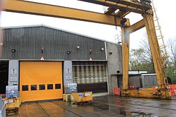 St Philip's Marsh - main shed east end.JPG