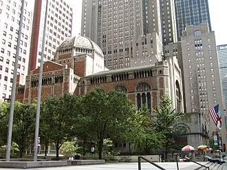 St. Bartholomew's Episcopal Church (Manhattan) - Image: St barts nyc