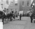 Staatsbezoek Franse president Coty aan Nederland. Amsterdam, middag rijtoer, aa…, Bestanddeelnr 906-6089.jpg