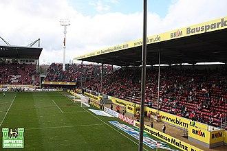 Bruchwegstadion - Image: Stadion am Bruchweg 3