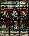 Stained glass window, All Saints' church, Gainsborough (18189678942).jpg