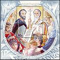 Stamp of Russia 2013 No 1699 Cyril and Methodius.jpg