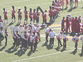 Stanford Band performing pregame at 2008 Big Game 03.JPG
