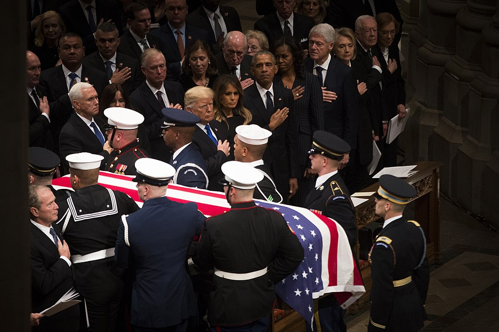 State Funeral for President Bush 181205-D-DY697-252
