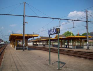 Aalter railway station railway station in Belgium