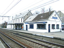 Uccle-Calevoet railway station