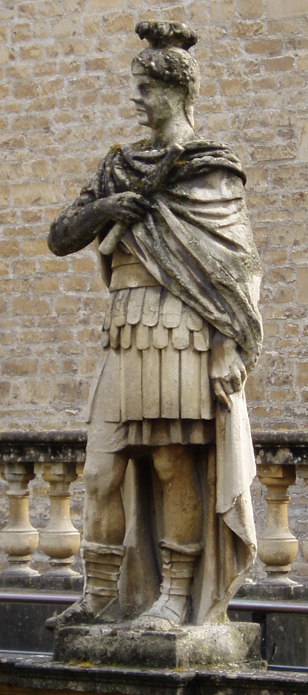 Statue of Agricola at Bath cropped
