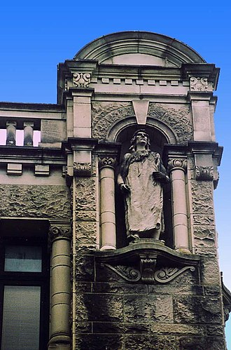 British Columbia Parliament Buildings - Statue of Chief Maquinna by Charles Marega