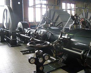Ir.D.F. Woudagemaal - Image: Steam engine Woudagemaal