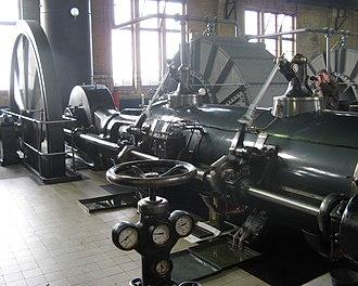 Wouda pumping station - Image: Steam engine Woudagemaal